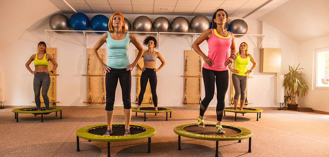 Spring Has Sprung: Why Adults Should Be Working Out on Trampolines | Shannon Fable | Expert Articles | 3/31/2017