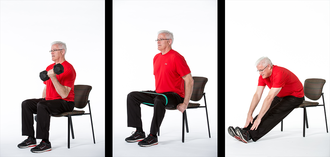 5 Chair Exercises for Older Adults