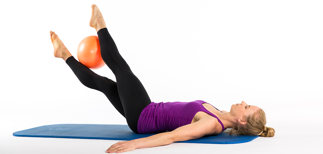 Pilates Ball Core-strengthening Exercises