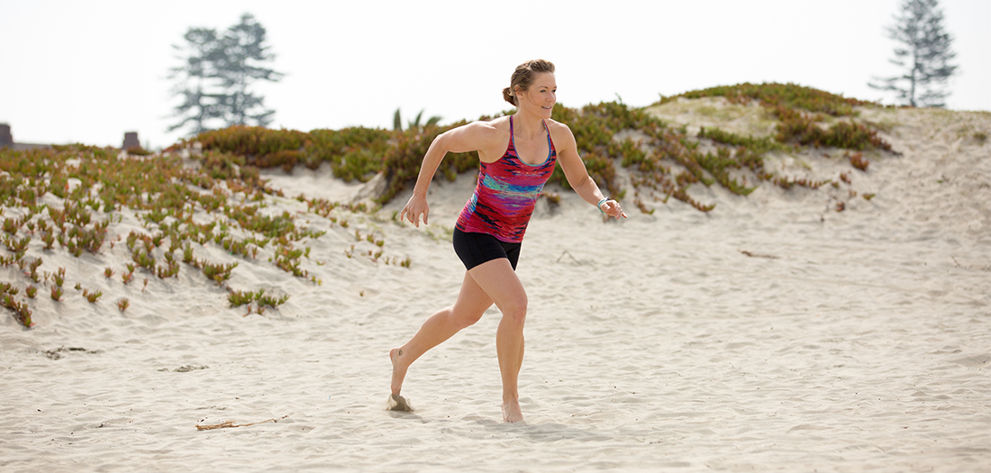 30-minute Total Beach-body Workout (Sand Optional)