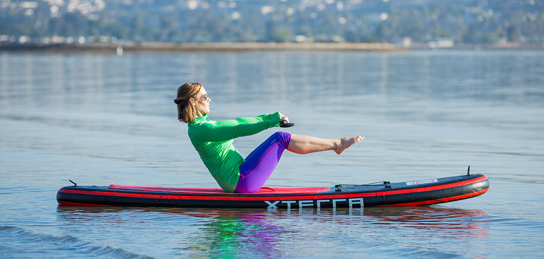 The DIY SUP Fitness Workout