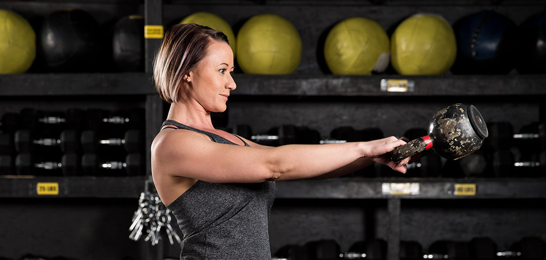 One Weight Workout - Kettlebell