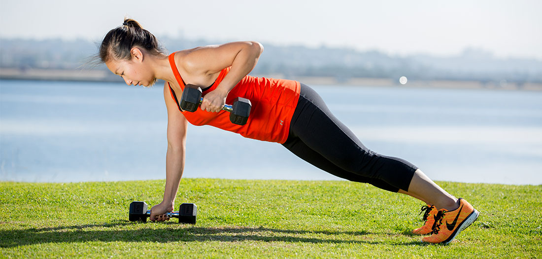 One Weight Workout: Dumbbell
