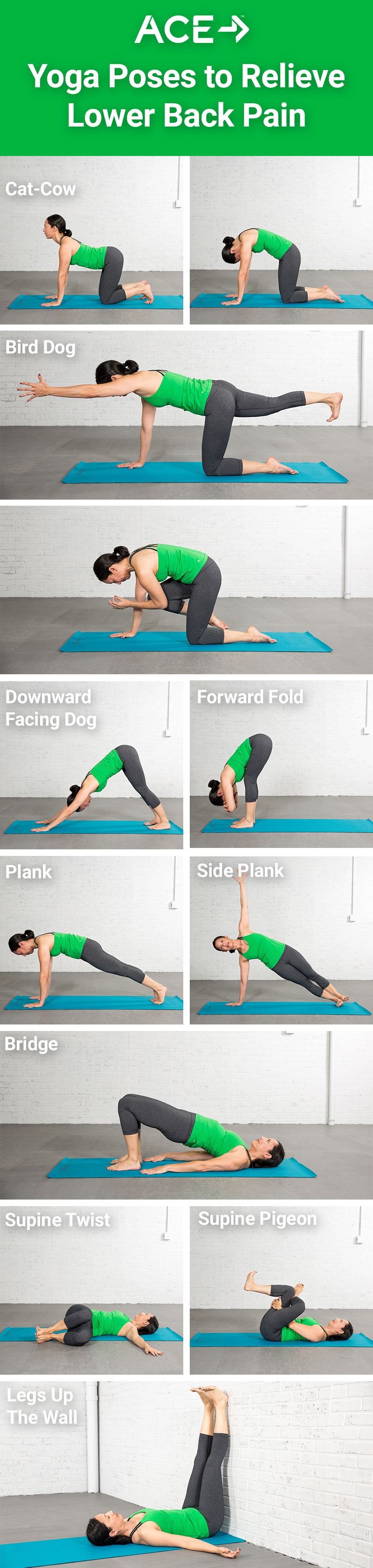 Lower Back Pain Yoga Asanas