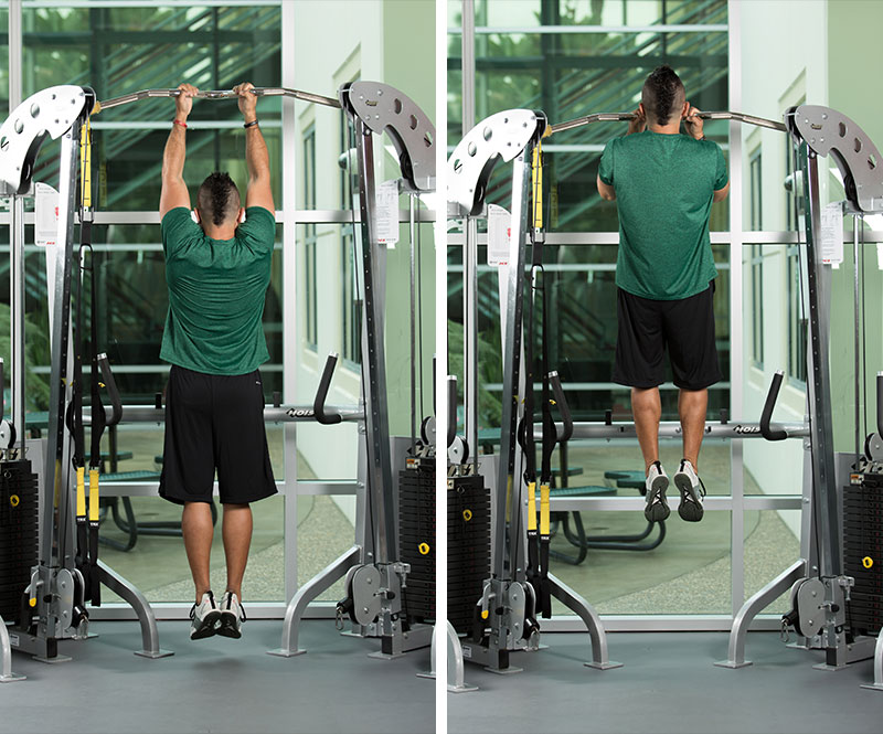 Superband Assisted Chin-up