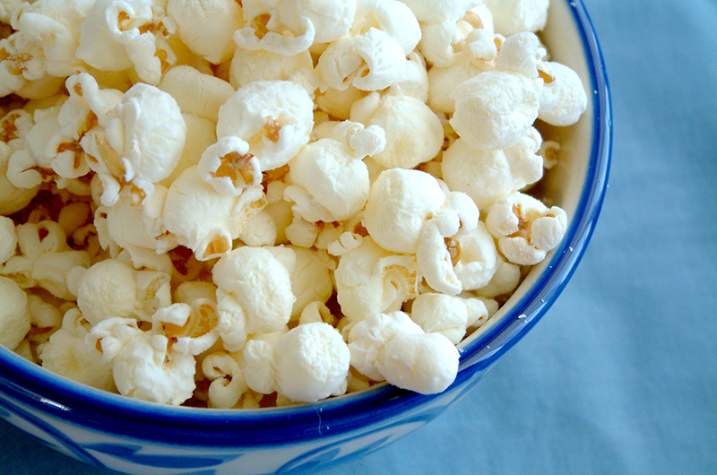 Power Up With Popcorn