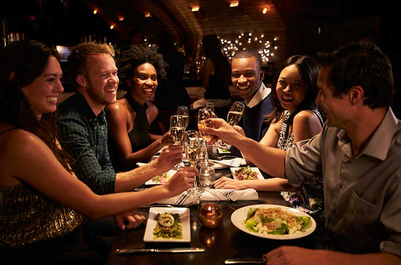 Save dining out for special occasions.