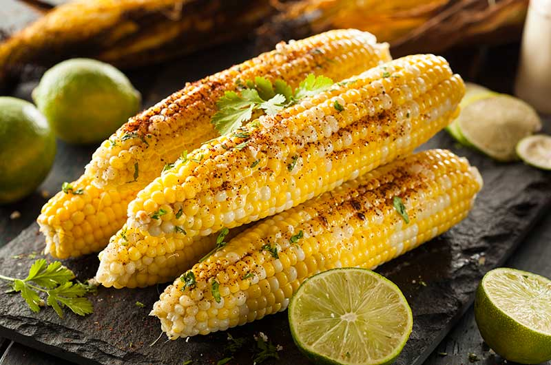 Chipotle and Lime Grilled Corn