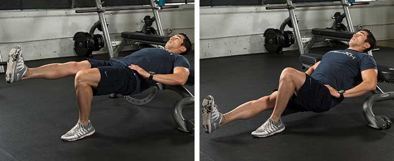 Single-leg Body-weight Hip Thrust