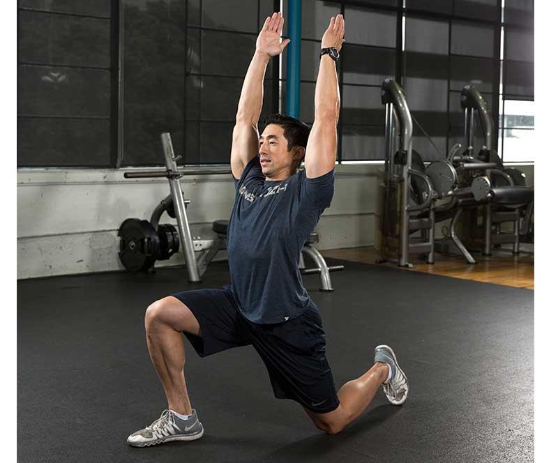 Kneeling Hip Flexor Stretch and Back Extension