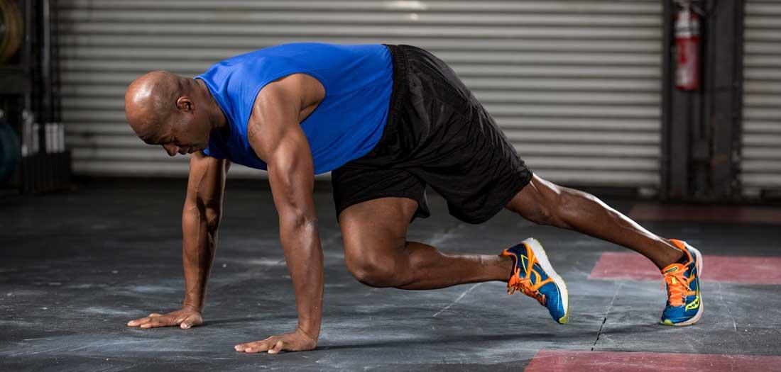 shin balance leg lowering