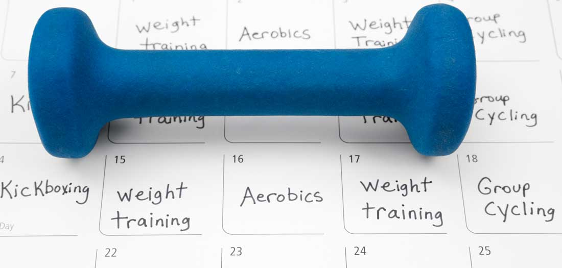 your year-round workout plan