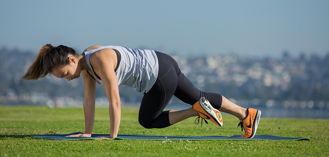 5 Creative Body-weight Exercises