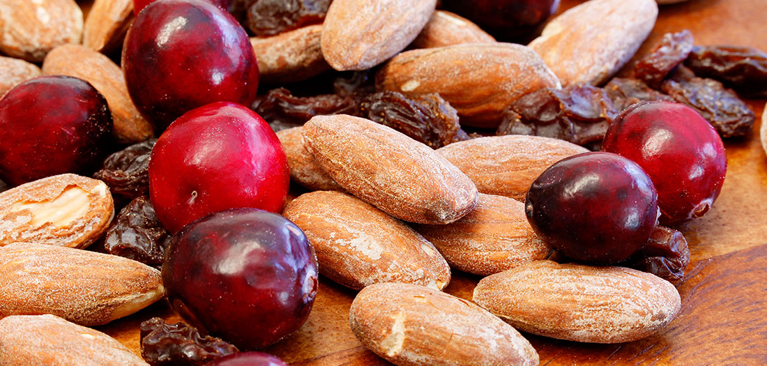 cranberries-almonds