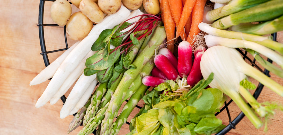 5 Spring Vegetables You Should Be Eating
