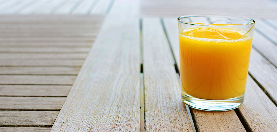 skip the juice to stay slim