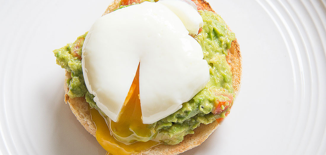 healthy eggs Benedict recipe