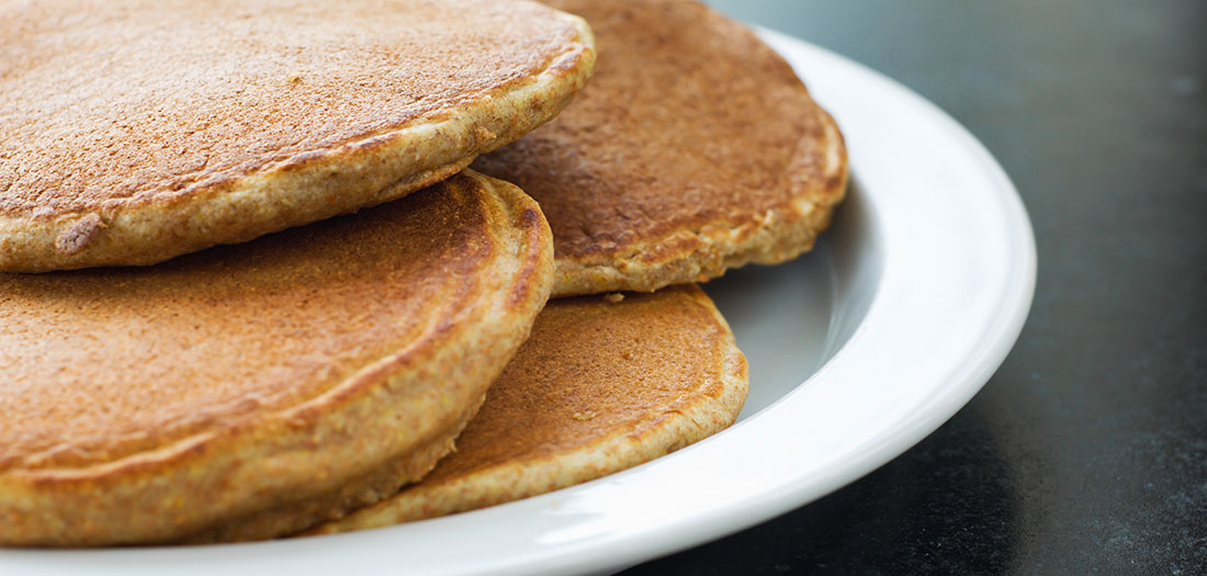 healthy whole wheat pancakes recipe