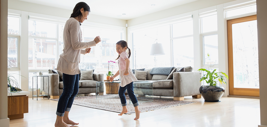 5 Ways to Get Kids Moving Inside When it is Cold Outside
