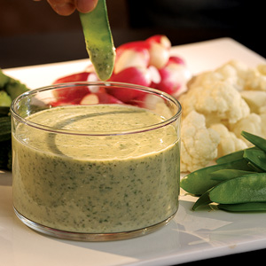 Feta & Herb Dip with Crudites