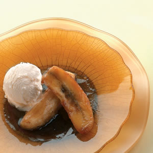 Bananas in Brown Sugar-Rum Sauce