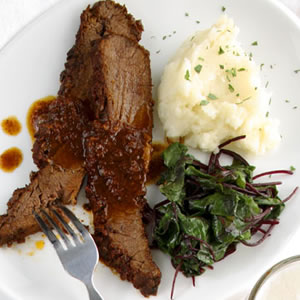 Oven Barbecued Brisket