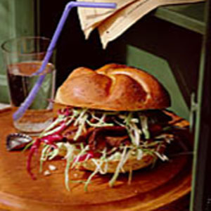 Barbecued Pork & Coleslaw Sandwiches