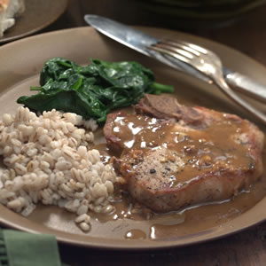 Pork Chops with Orange-Soy Sauce