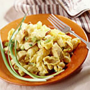 curried chicken pasta salad this crowd pleasing pasta salad is potluck ...