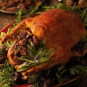 Roast Turkey with Chestnut Stuffing