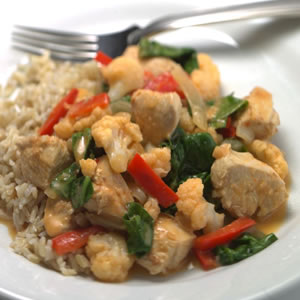 Quick Thai Chicken & Vegetable Curry