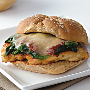 Chicken Parmesan Sub