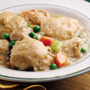 Old-Fashioned Chicken & Dumplings