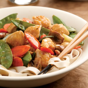 Lemon Chicken Stir-Fry