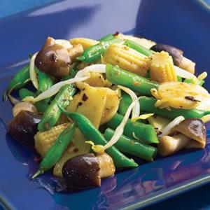 Asian Green Bean Stir-Fry