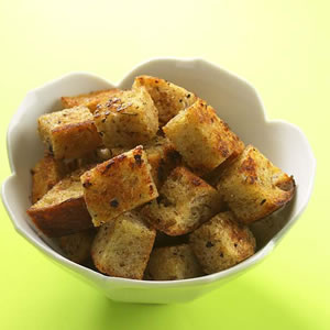 Whole-Wheat Skillet Croutons