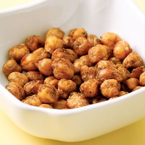 "Spiced Chickpea ""Nuts"""