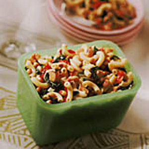 Southern Pasta Salad with Black-Eyed Peas