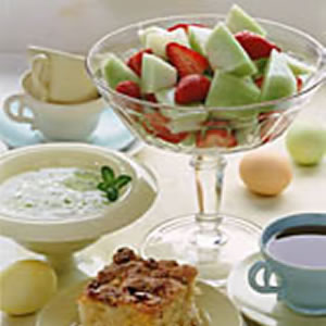 Fruit Salad with Lime Yogurt