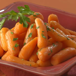 Glazed Mini Carrots