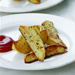 Oven Fries for Two