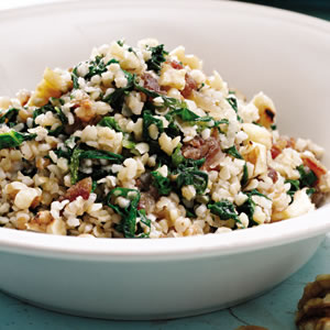 Mustard Greens & Bulgur