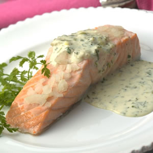 Light Lemon Sauce with Herbs