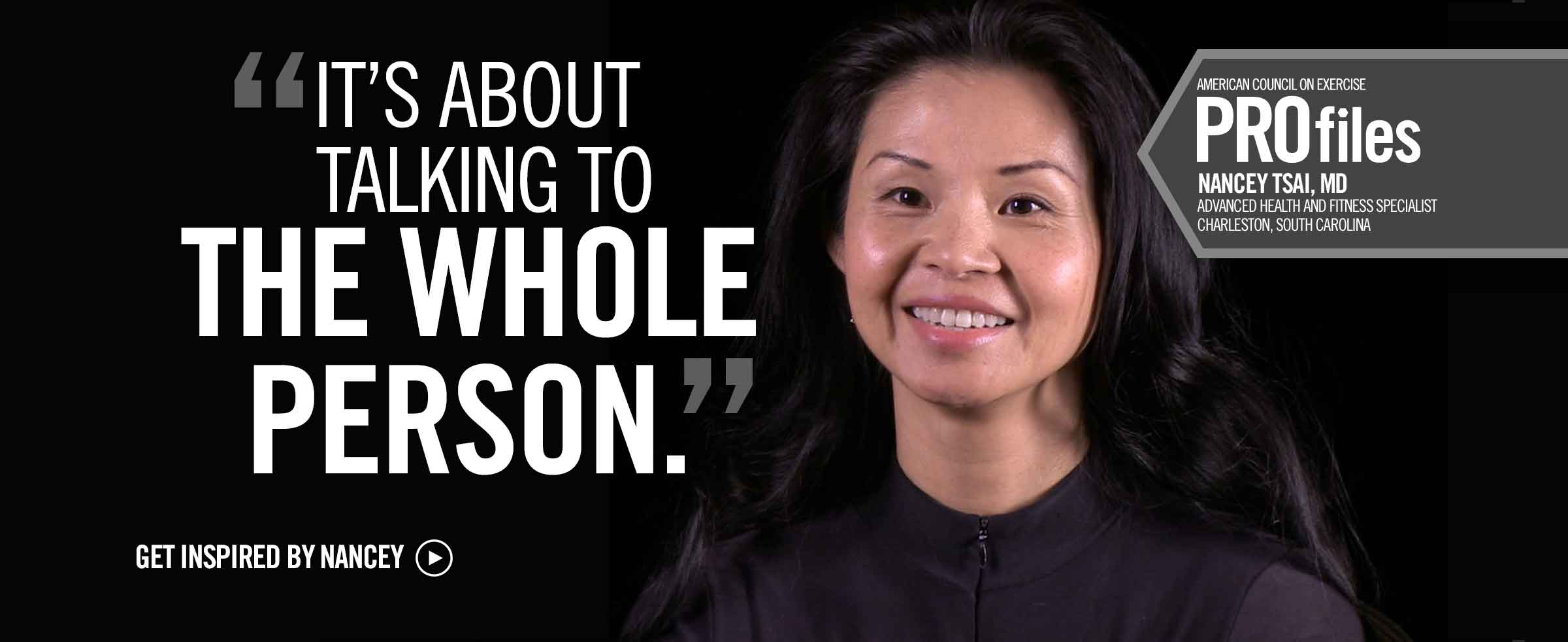 It's About Talking to the Whole Person - Nancey Tsai, MD