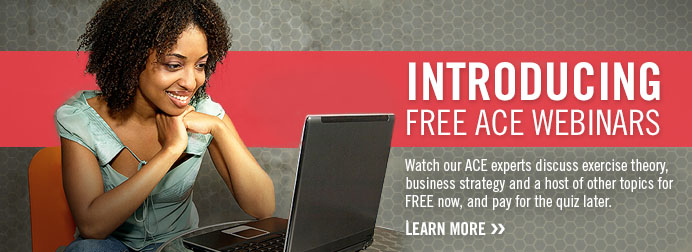 Introducing Free ACE Webinars.