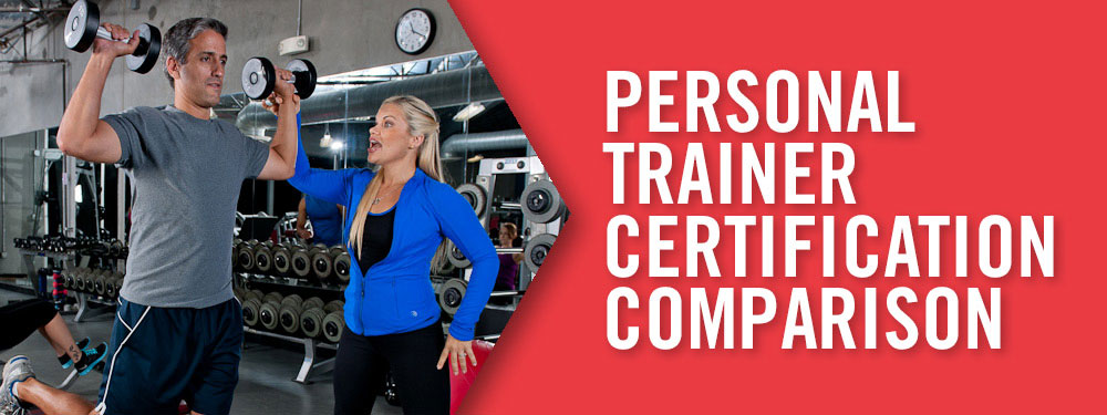 Personal Training Certification Comparison