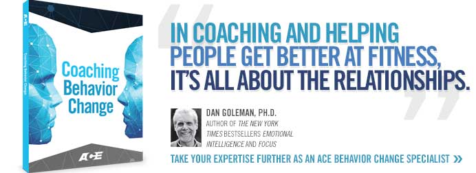 In coaching and helping people get better at fitness, it's all about relationships.