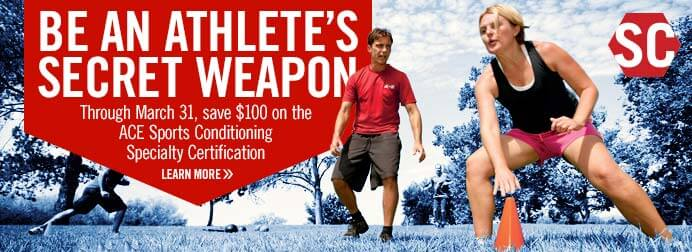 Be An Athlete's Secret Weapon
