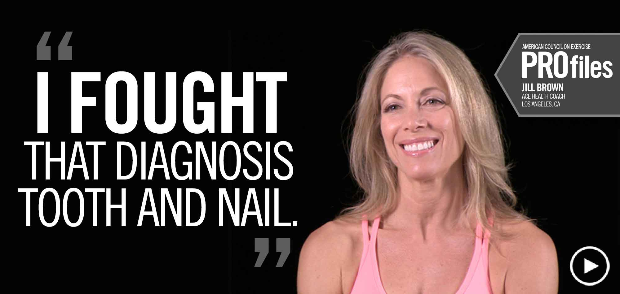 I Fought that diagnosis tooth and nail