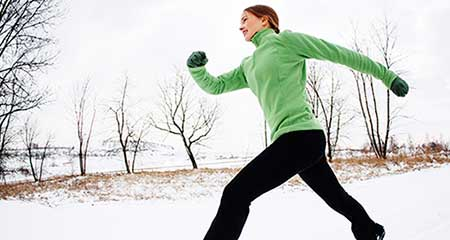Cold Winter Temps Trigger Brown Fat Burning